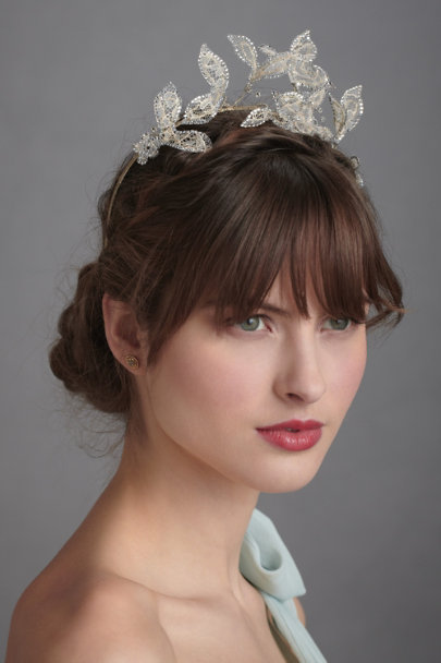 Cécile Boccara Silver Alfresco Headband | BHLDN