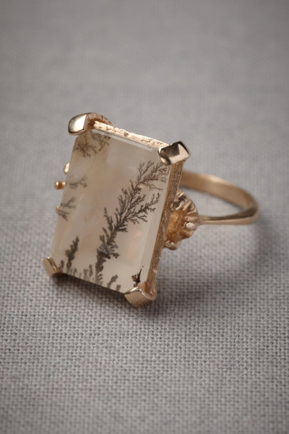 Gold Microcosm Ring | BHLDN