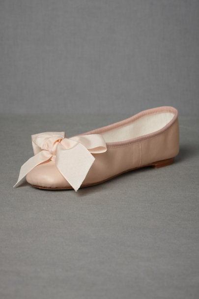 rose Parisian Ballet Flats | BHLDN