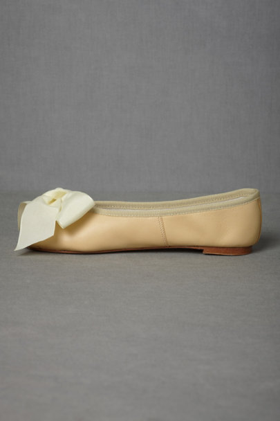 butter Parisian Ballet Flats | BHLDN