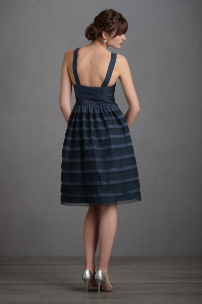 Night Shadow Stripe Dress | BHLDN