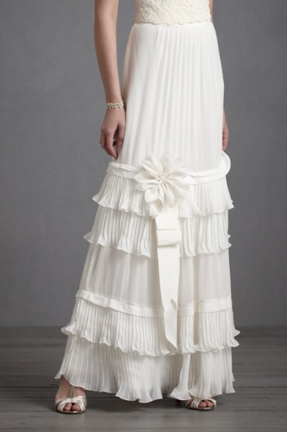 Ivory Rhythm-And-Flow Skirt | BHLDN