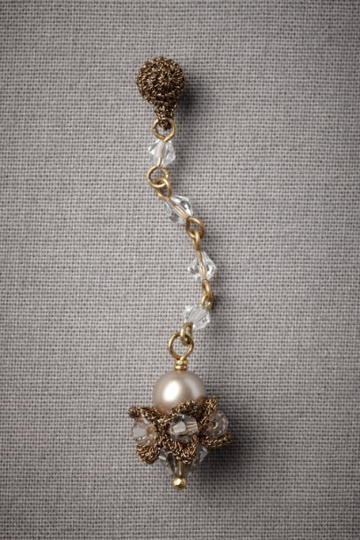 Pearl Stately Scepter Earrings | BHLDN