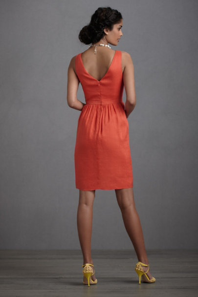 Fire Orange Vivacity Shift | BHLDN