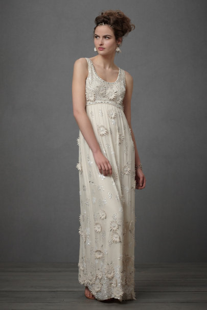 Parchment Divine Downpour Gown | BHLDN