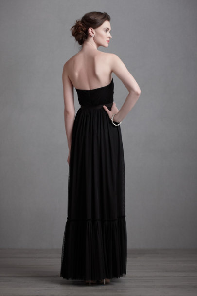 Black Niceties Dress | BHLDN