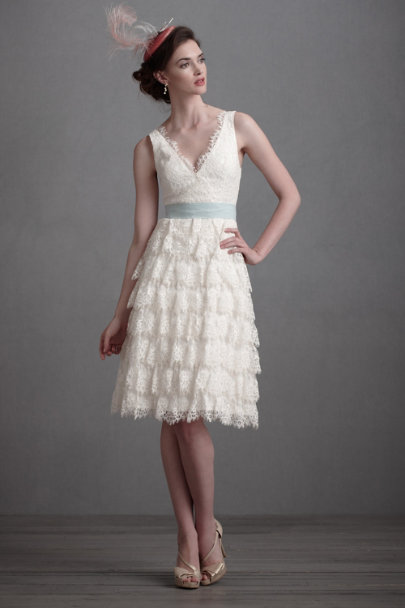 Ivory Coquille Dress | BHLDN