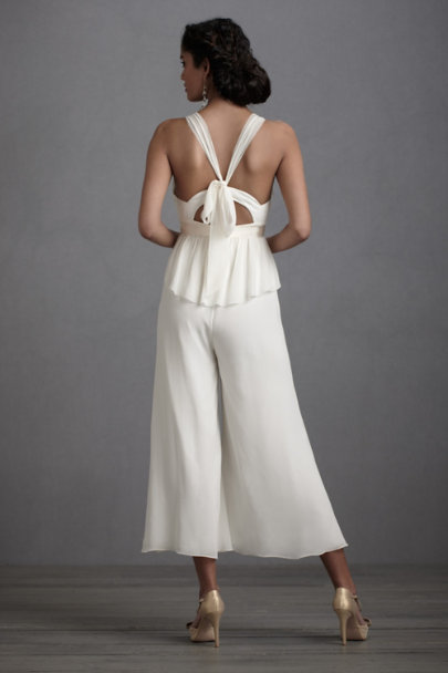 Ivory Lady Lindy Jumpsuit | BHLDN