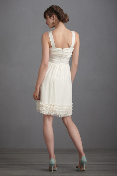 Ivory Crème Fraiche Dress | BHLDN