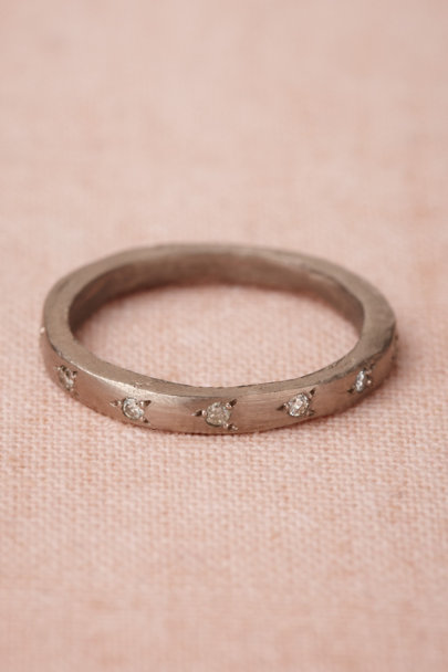white gold Lysithea Ring | BHLDN