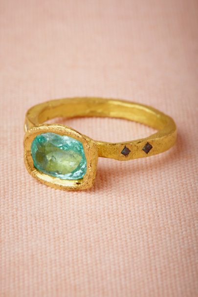 blue Bleu Vif Ring | BHLDN