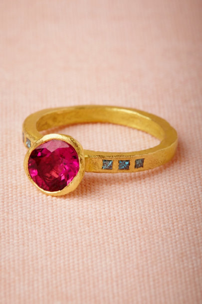 red Vermilion Ring | BHLDN