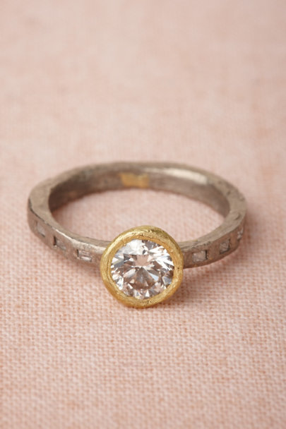 white gold Elemental Ring | BHLDN
