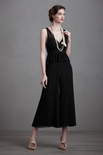 Black Lady Lindy Jumpsuit | BHLDN