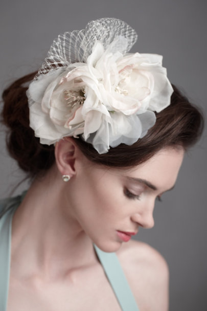 Ivory Petal Billow Headband | BHLDN