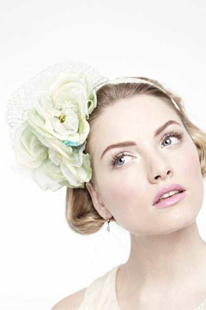 Green Petal Billow Headband | BHLDN
