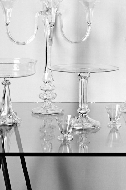 Bent Light Candelabra, Tall