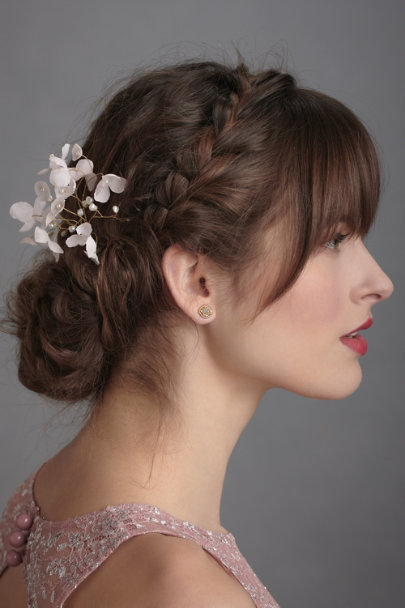 Twigs & Honey Pink Pure Papaver Hairpin | BHLDN