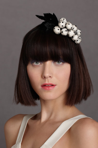black motif Vieilles Vignes Headband | BHLDN