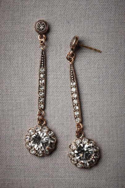 Antique Bronze Bosporan Kingdom Earrings | BHLDN