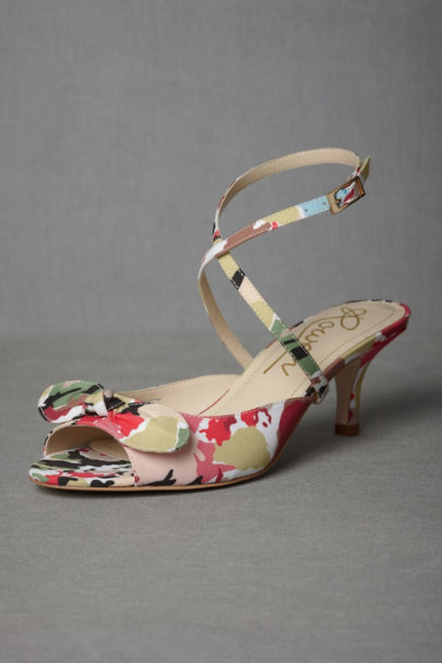 Sun-Warmed Silk Heels