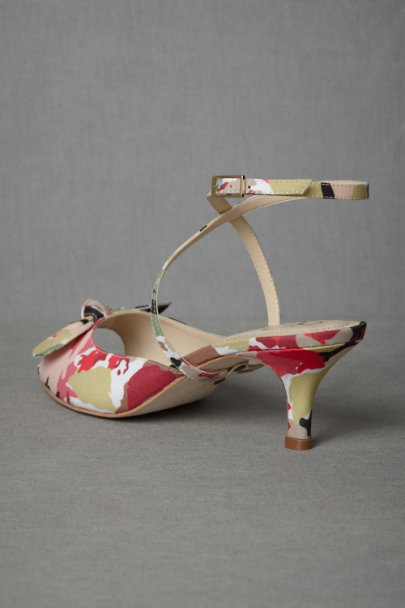 multi Sun-Warmed Silk Heels | BHLDN