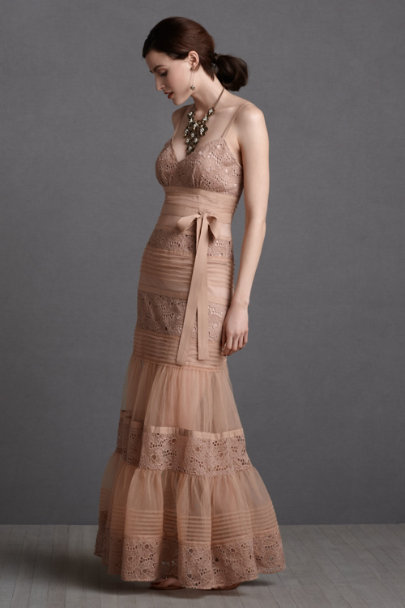 petal pink Rosewater Parfait Dress | BHLDN