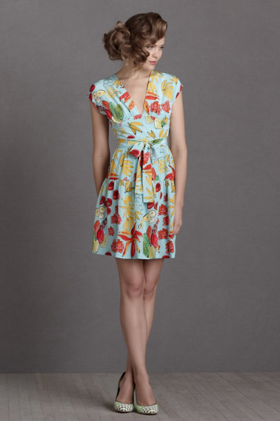 Issa ice fruit print Tropicalismo Frock | BHLDN