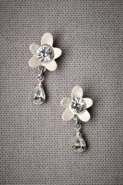 White After-The-Rain Earrings | BHLDN