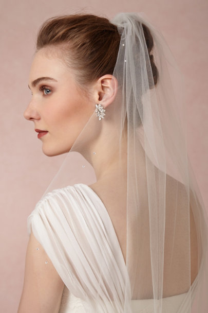 Debra Moreland candlelight Lighter-Than-Air Veil | BHLDN