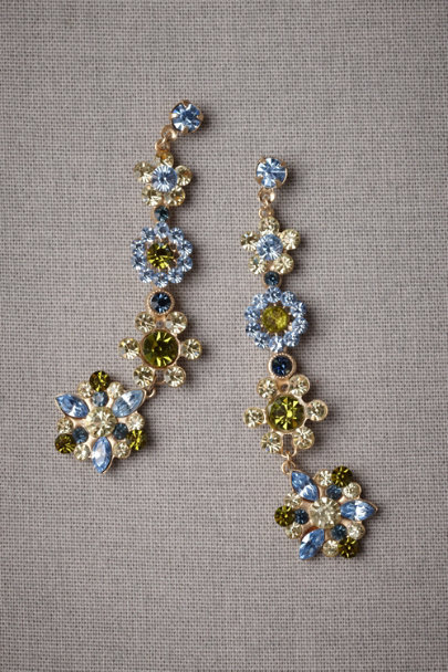 gold Mill Pond Earrings | BHLDN