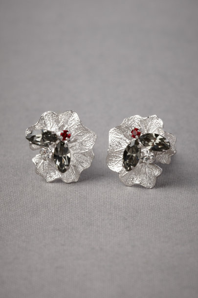 Debra Moreland silver Shoefly Cufflinks | BHLDN