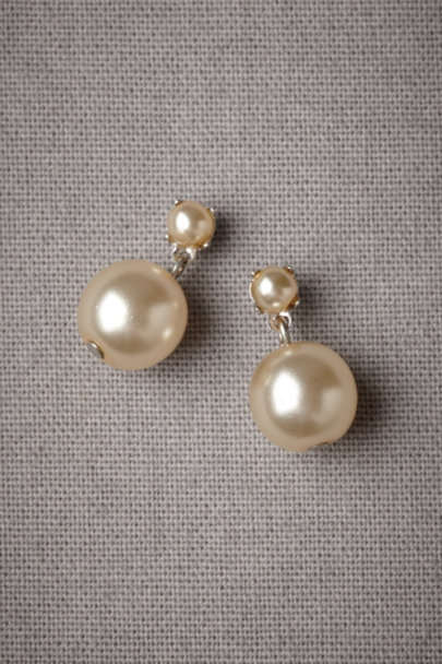 pearl Paired Pearls Earrings | BHLDN