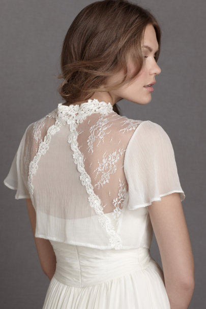 neutral Hedgerow Lace Topper | BHLDN