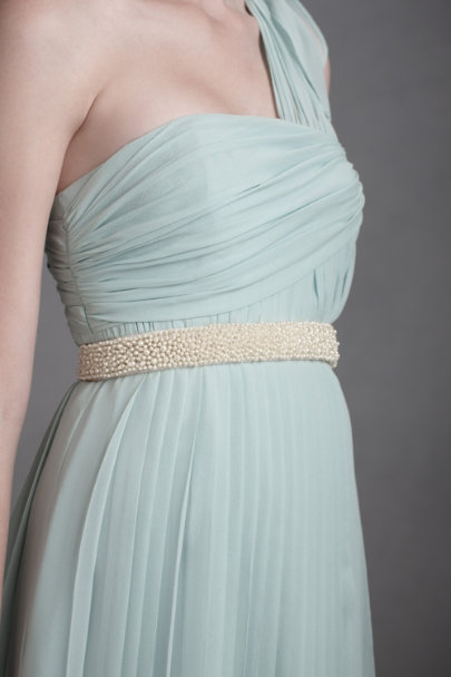 Pearl Jeweled Ocean Sash | BHLDN