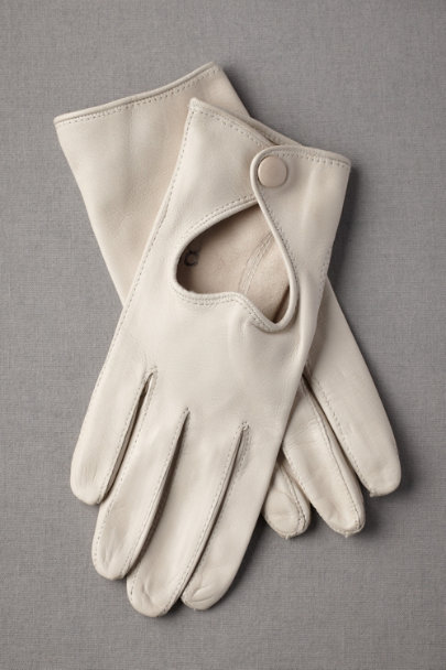 ivory Affectionate Adieu Gloves | BHLDN