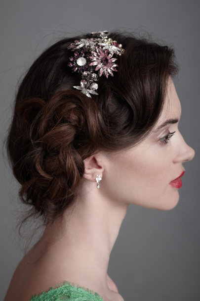 Silver Jeweled Firecrackers Headband | BHLDN