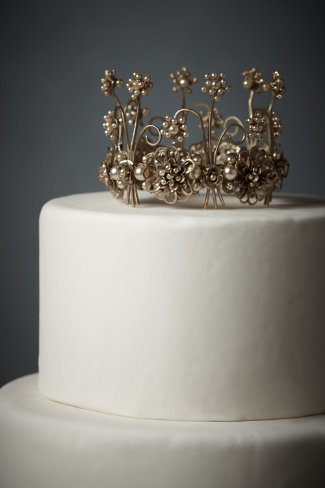 Nymph's Crown Cake Topper