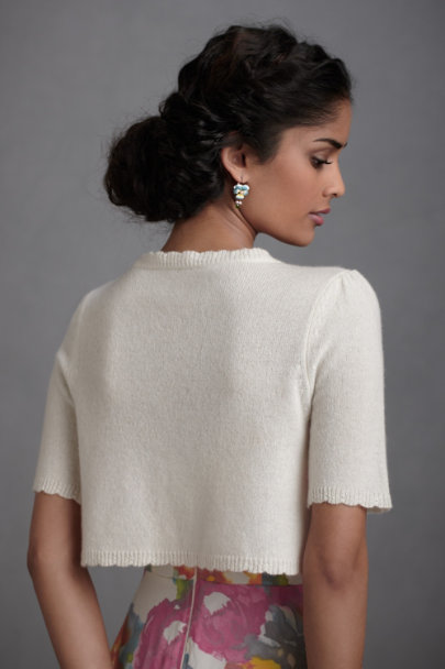 Ivory Subdued Bolero | BHLDN