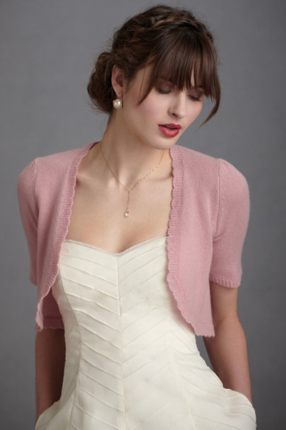 Blush Subdued Bolero | BHLDN