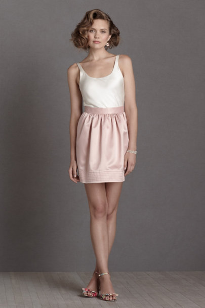 blush Soigné Skirt | BHLDN