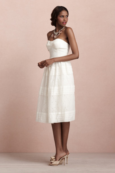 Ivory Dappled Shade Dress | BHLDN