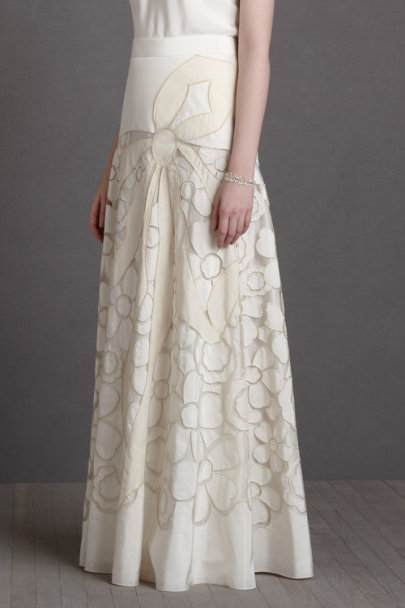 buttercream Couturier Skirt | BHLDN
