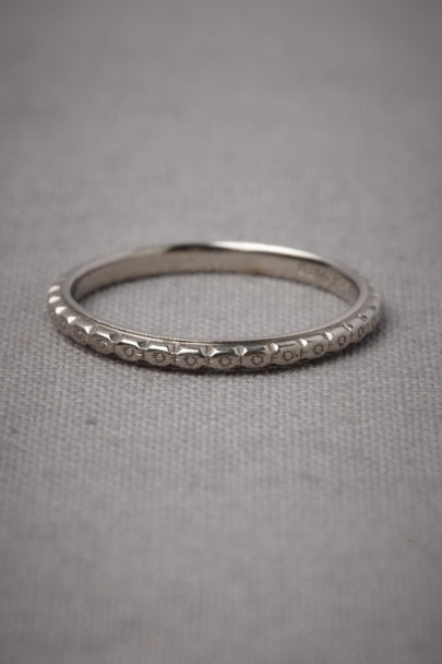 White Gold Inherited Love Ring | BHLDN