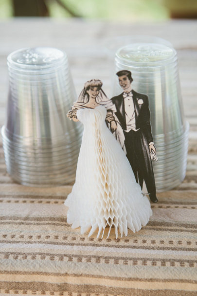 Pair of Swells Cake Topper | BHLDN