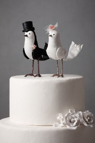 Perfect Pair Cake Topper