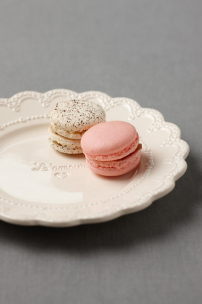 cream L'Amour Tidbit Plate | BHLDN