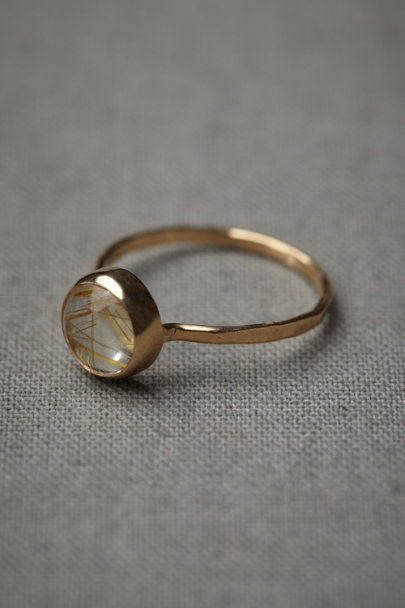 Melissa Joy Manning gold Filaments Ring | BHLDN