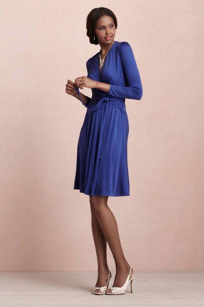 Issa blue Lazuline Dress | BHLDN
