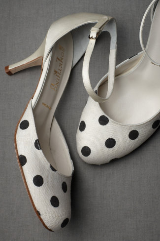 Polka-Dot Mary Janes